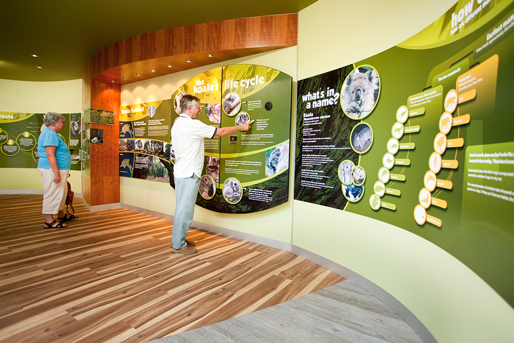 Inside the information centre
