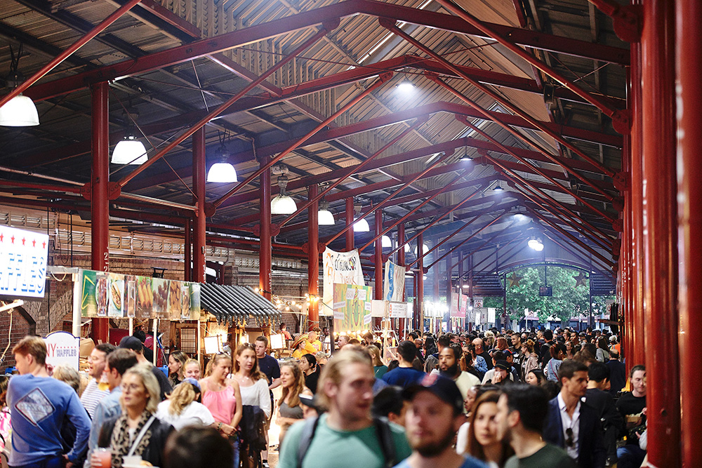 The night markets are a great place to explore!