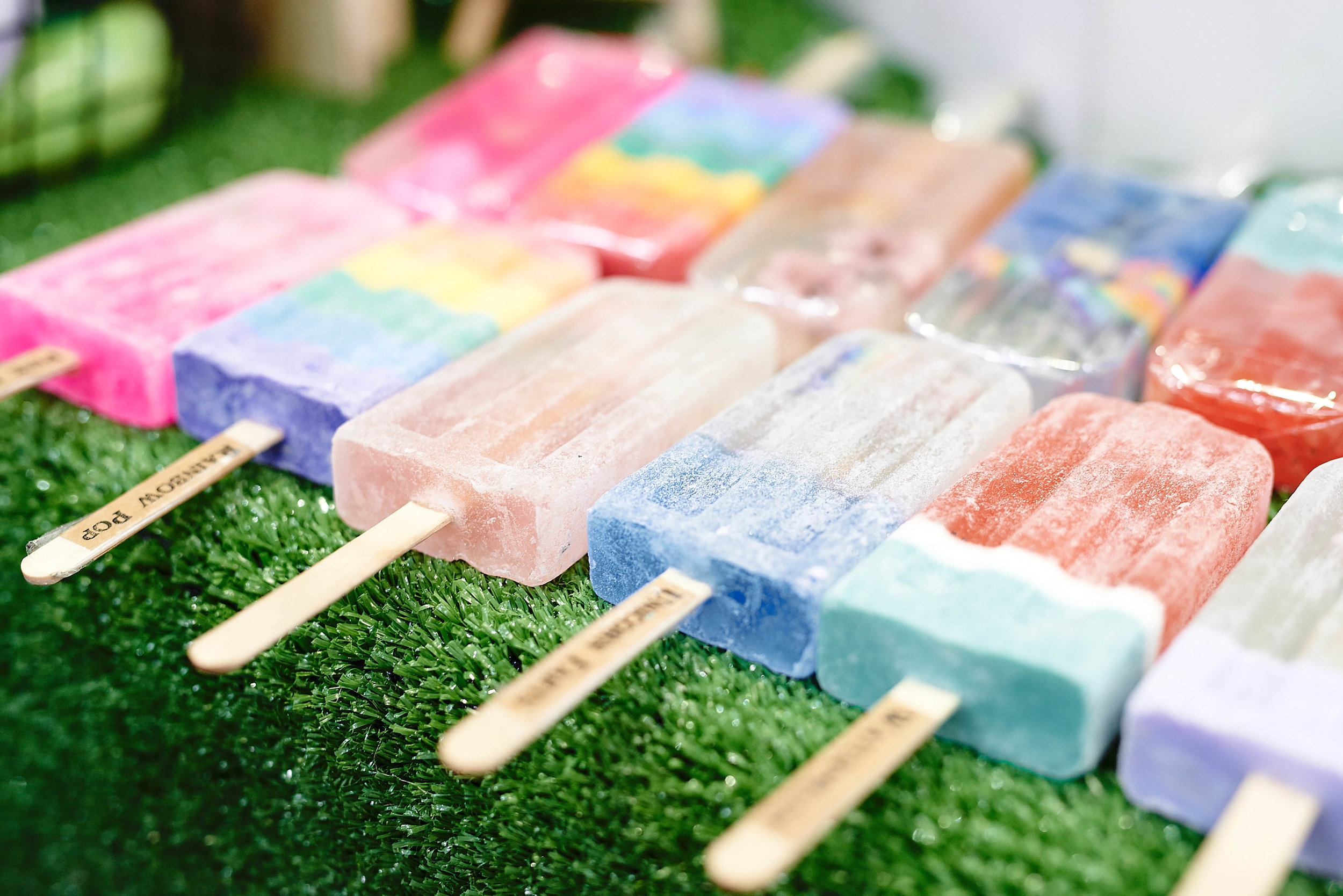 Rainbow Pops are great for summer!
