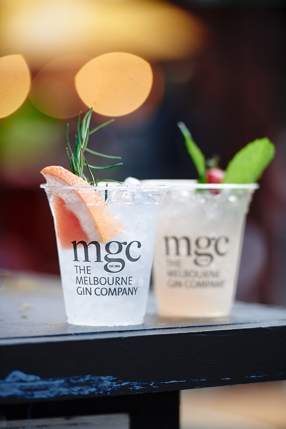 Melbourne Gin company at the night markets
