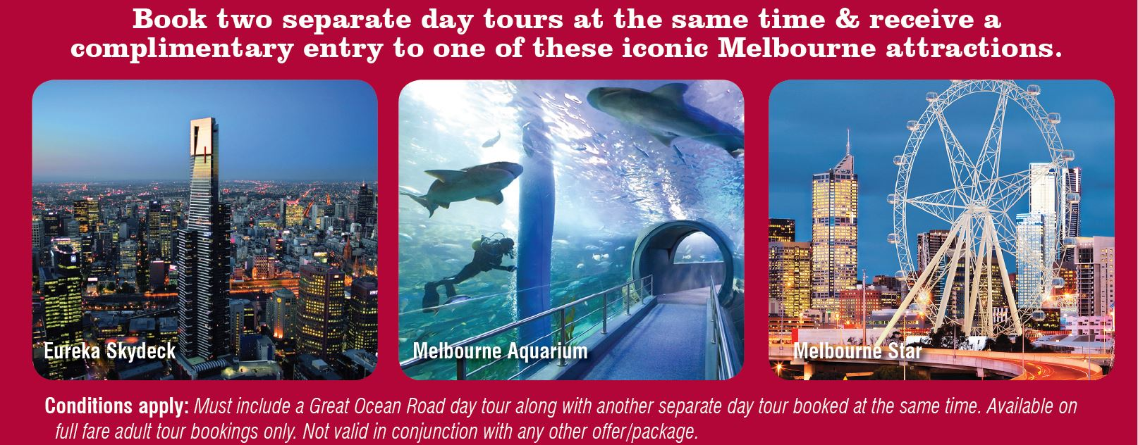 Free Ticket to Melbourne City Sightseeing Tour
