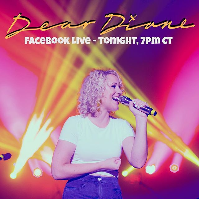 #DearDiane Facebook Live chat tonight @ 7pm central 💻  Send your stories & questions to deardiane@camcountry.com 💛 (real names won't be used during the chat)