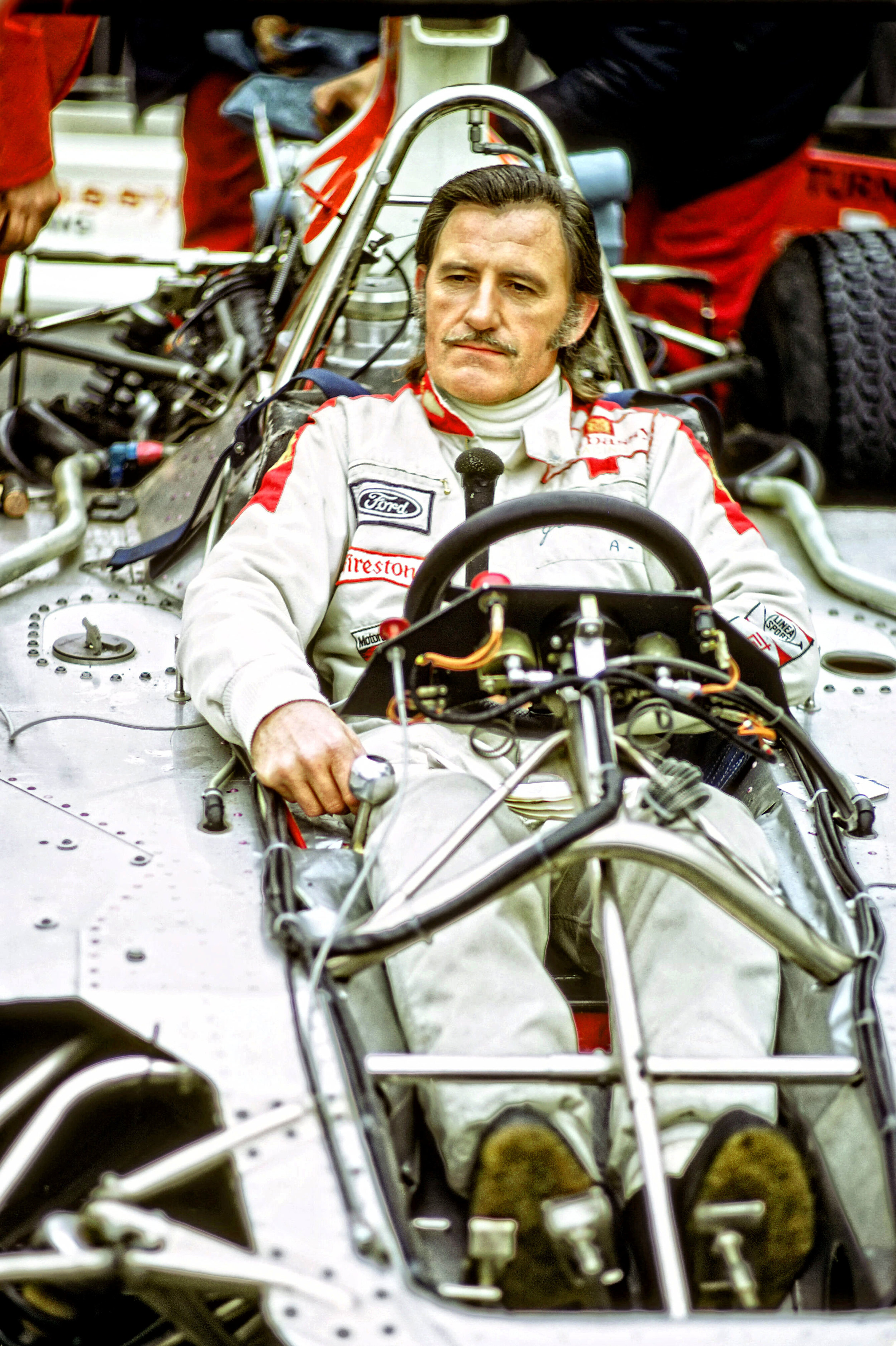 Graham Hill in the Tub