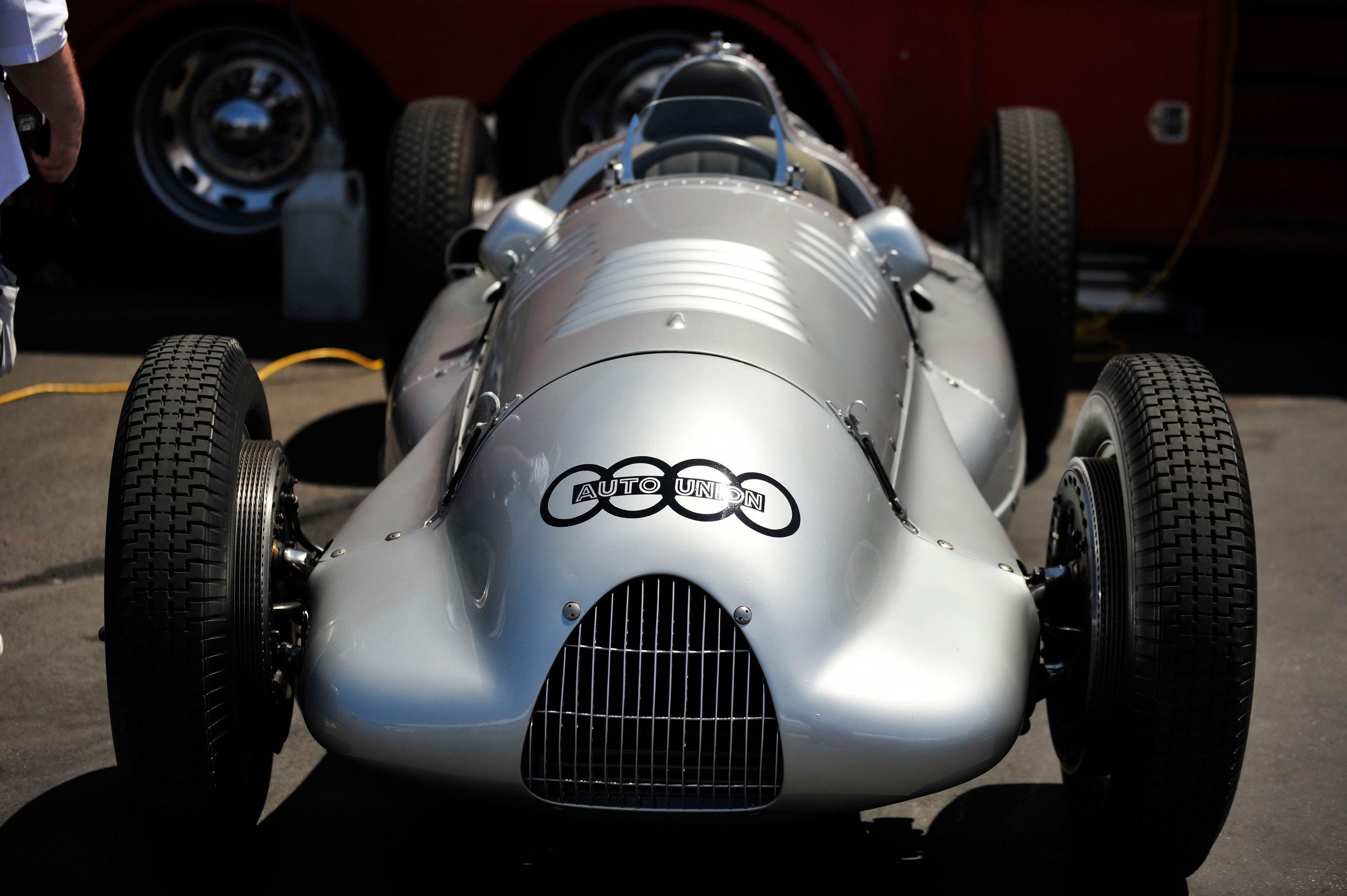 Auto Union V12 3 Litre-Grand Prix by Ferdinand Porsche