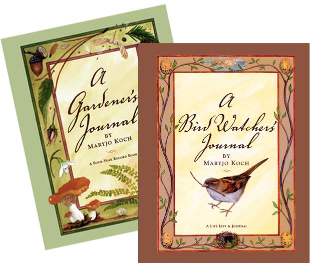 Gardener and Bird Watcher Journals