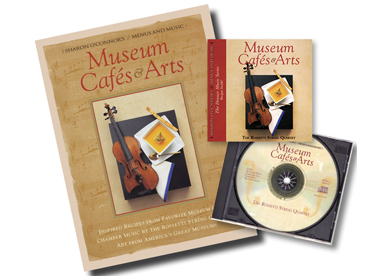 Boxed Cookbooks & Music CD