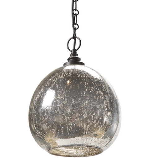 It's industrial, reclaimed, and modern. Don't we all need mercury-dipped pendant lights?