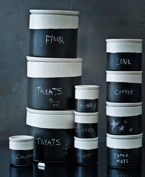 Break out the chalk and organize that kitchen!