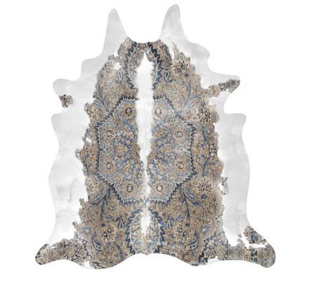 persian cowhide rug