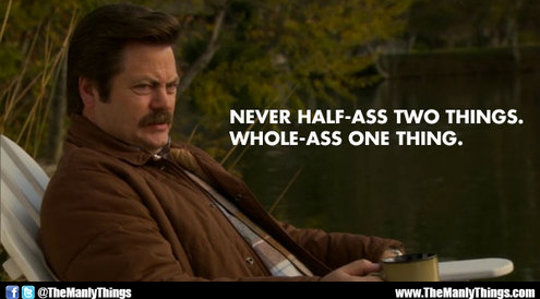 Ron Swanson--Role Model