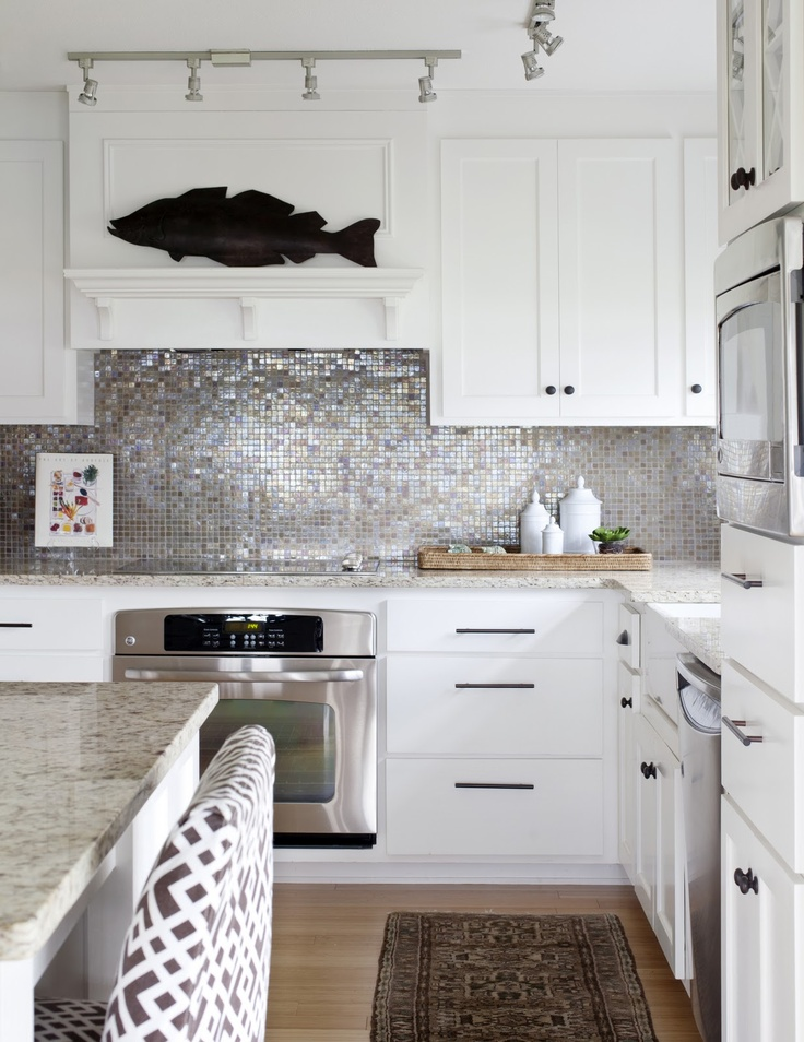 It's all about that backsplash