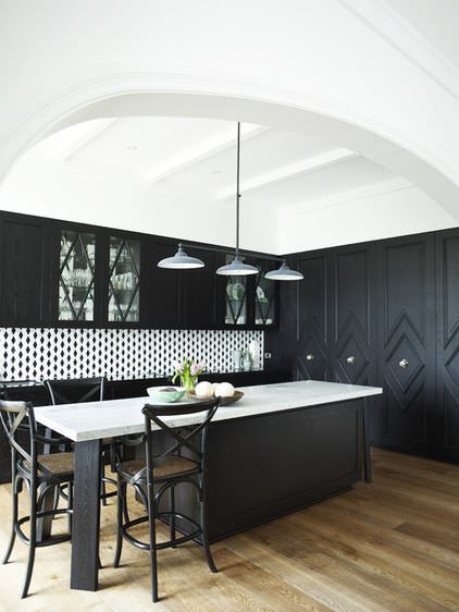 Classic kitchen with a beautiful twist