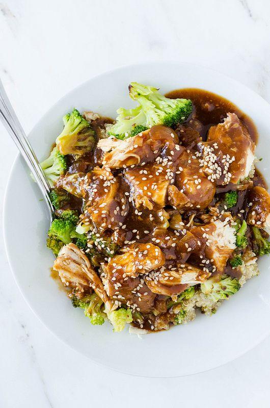 slow-cooker-sesame-garlic-chicken