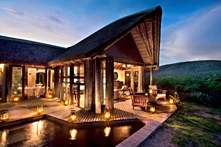 The Great Fish River Lodge does it up right.