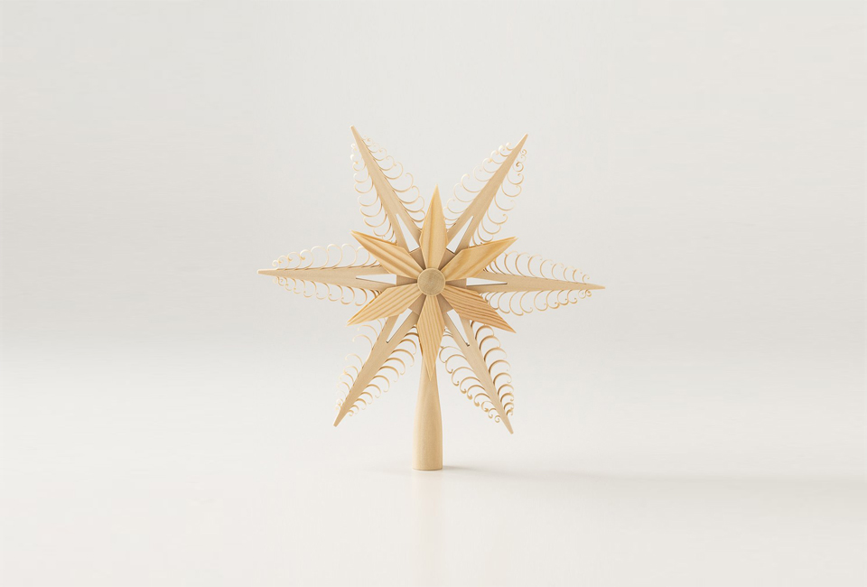 Tree Topper from Schoolhouse Electric
