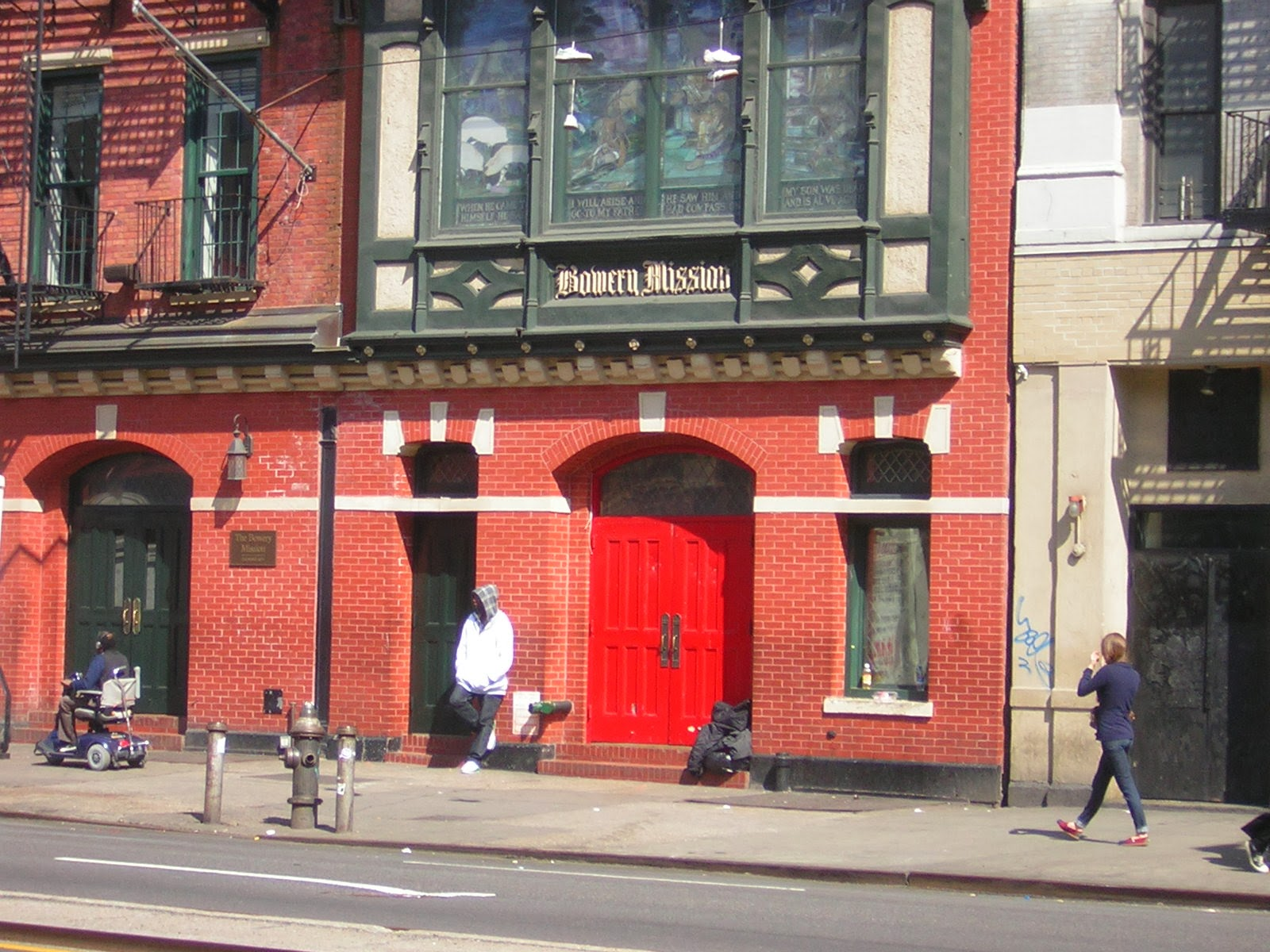 The Bowery Mission, NY( Source )