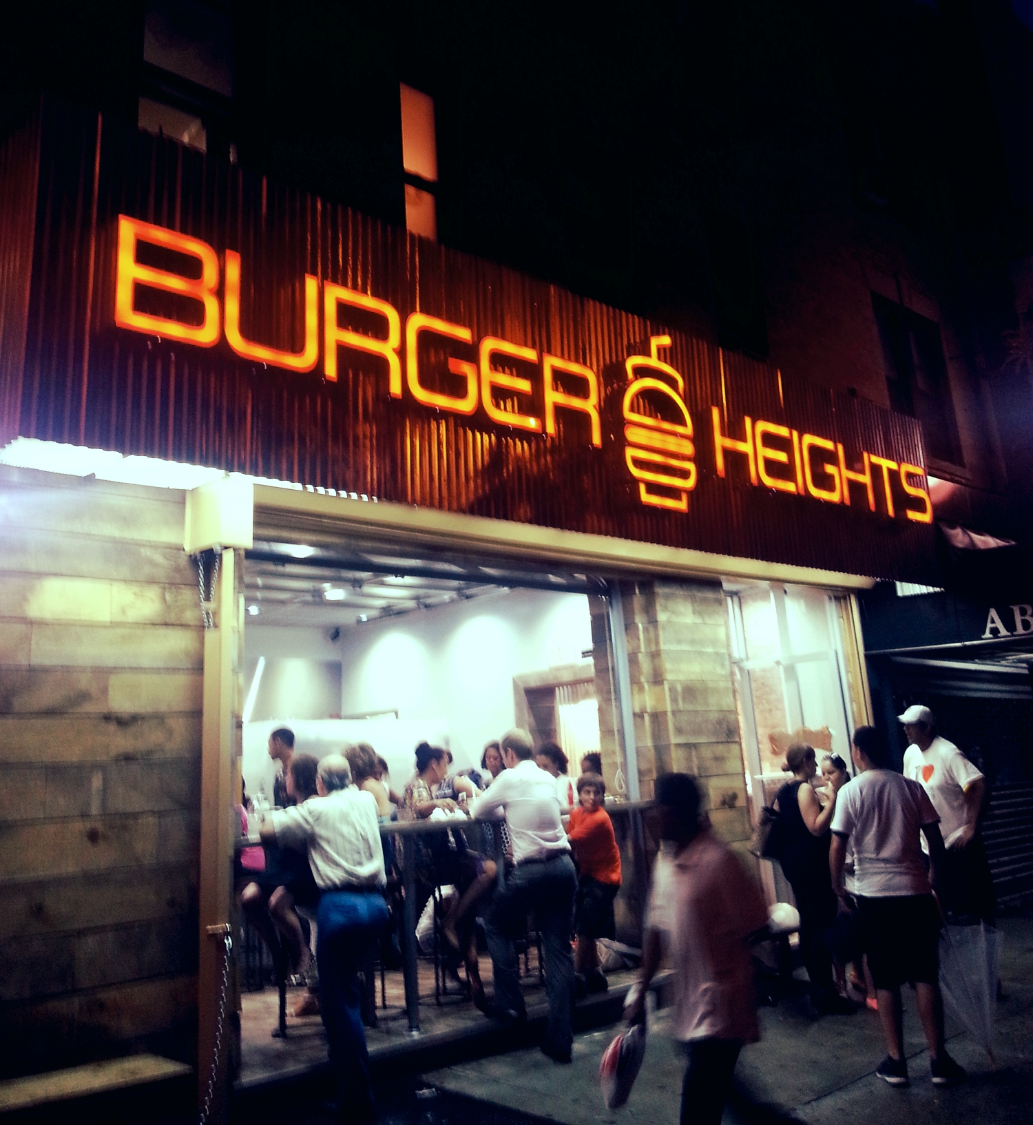 Burger Heights opens in Washington Heights, NY (Photo: Abigail Ekue Photography)