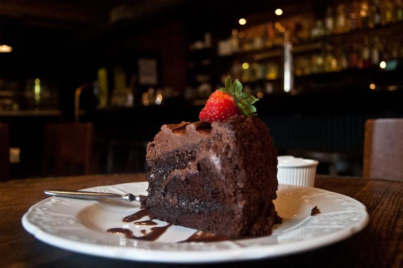 Note the chocolaty gooeyness...