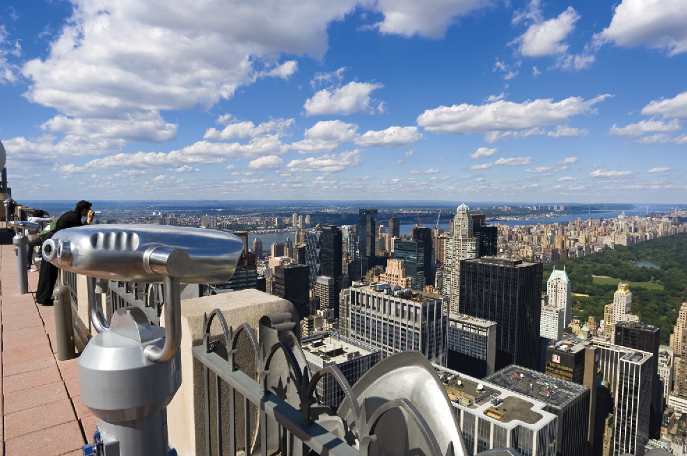 Top of the Rock, Rockefeller Center, New York, NY