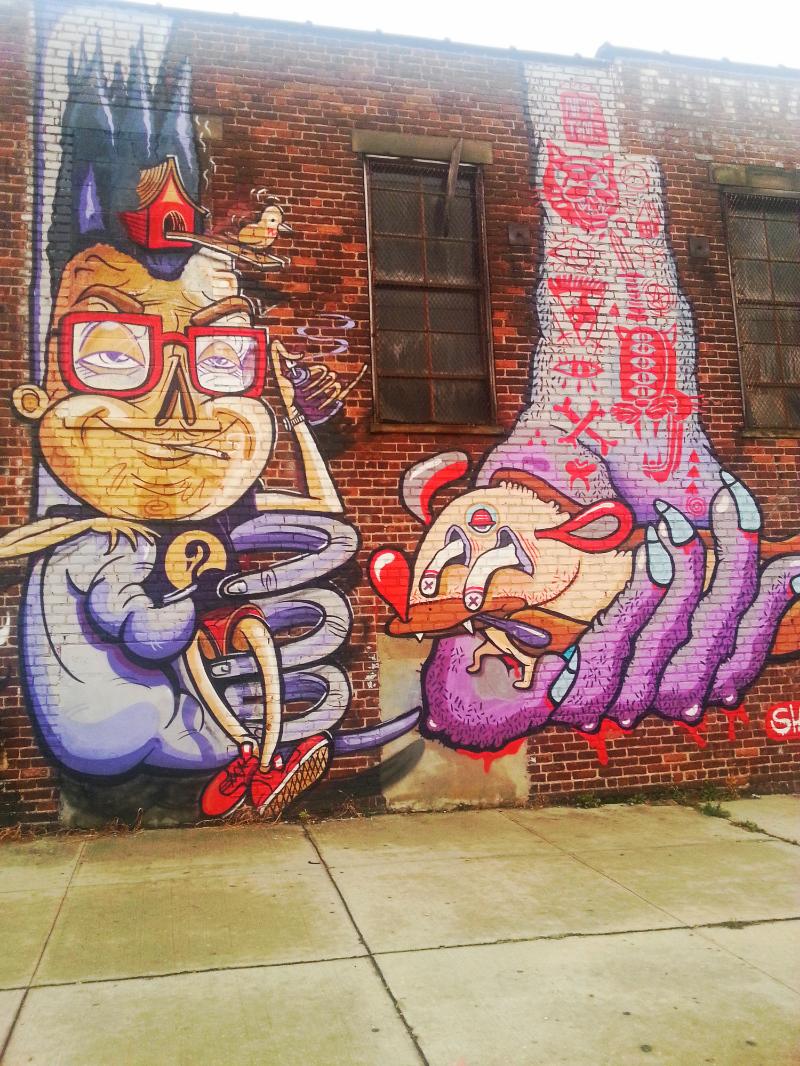 Bushwick Art Collective, October 2014