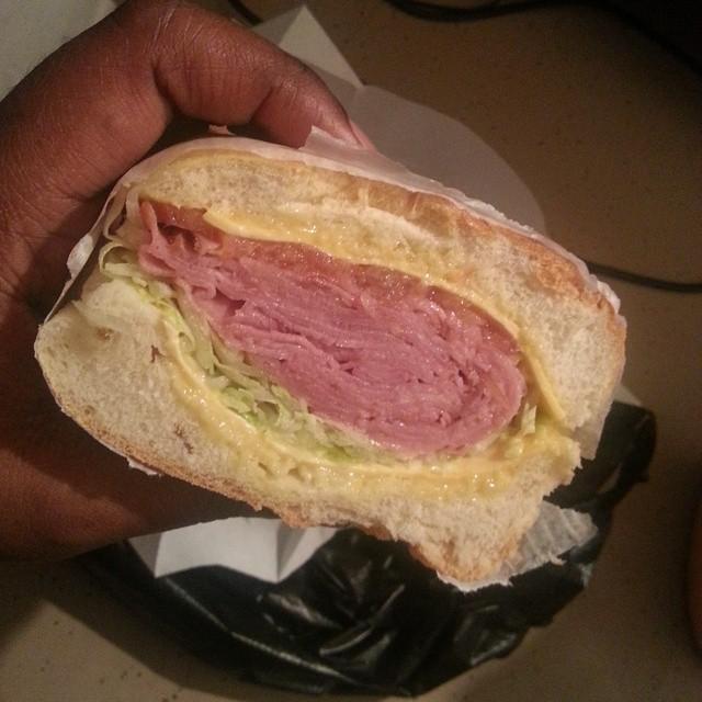 Delicious Bodega Sandwich