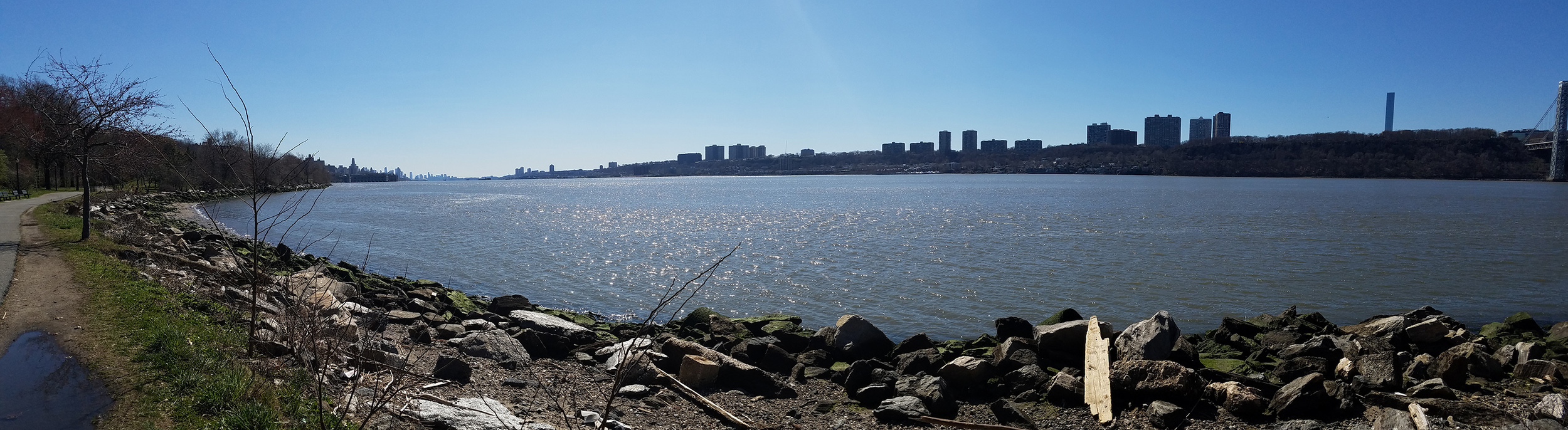 Shot this on Tuesday afternoon along the Hudson river