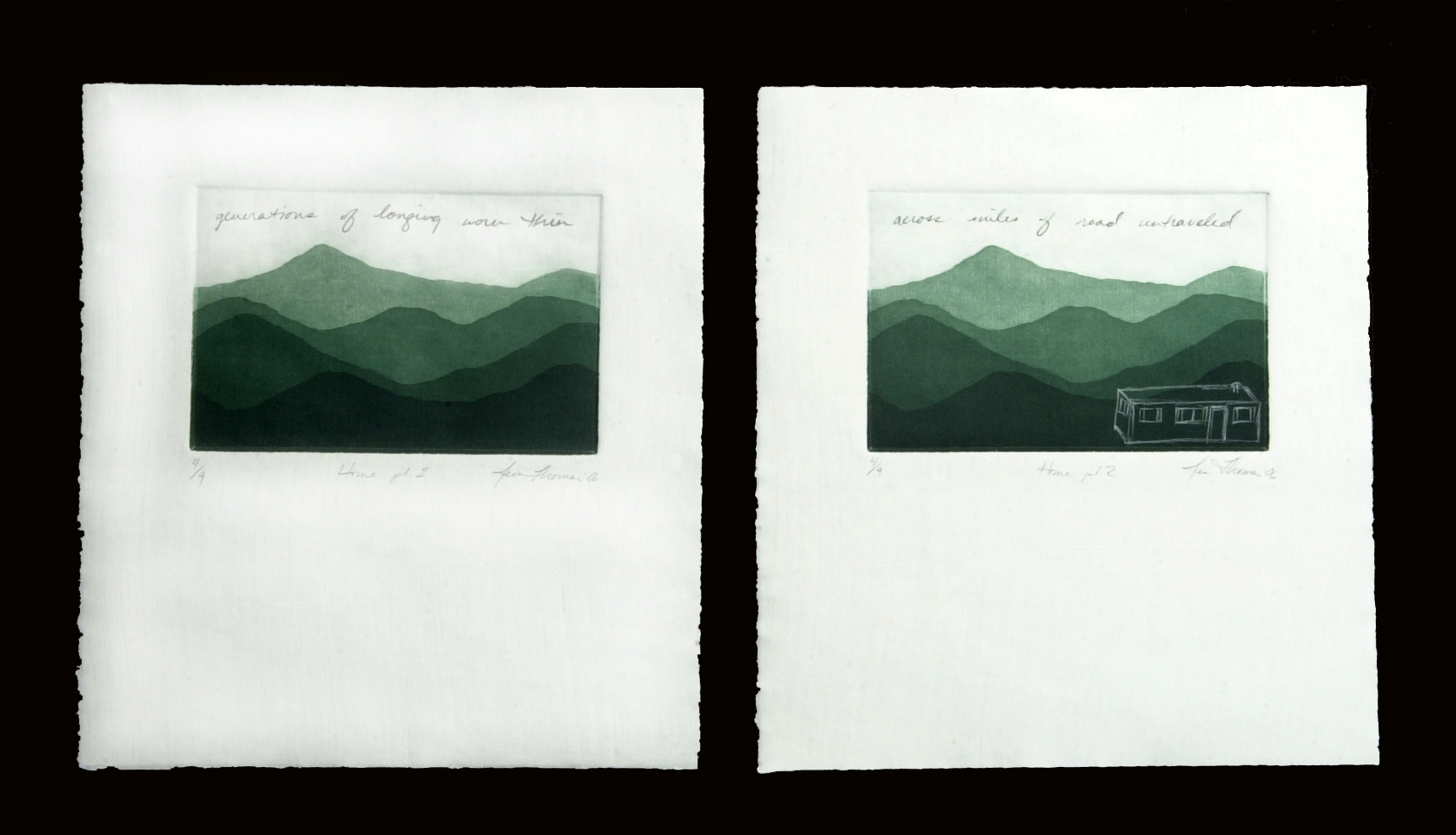 Home (diptych)