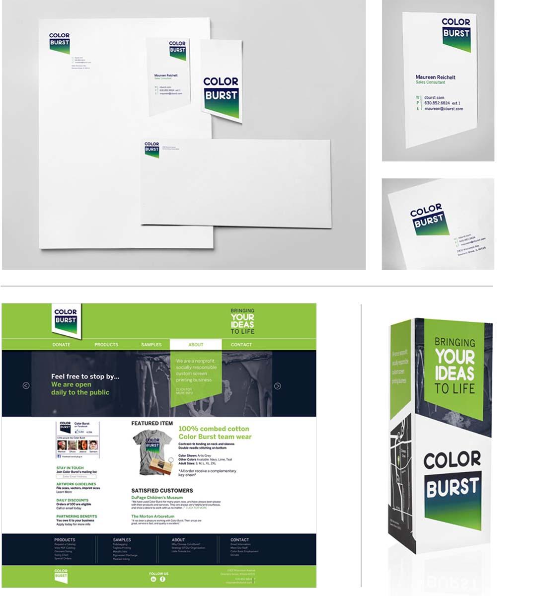 Color Burst rebrand