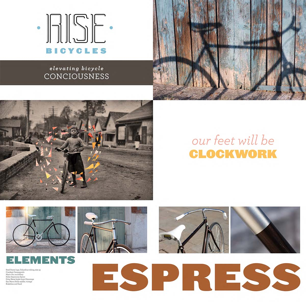 Rise Bicycle catalog