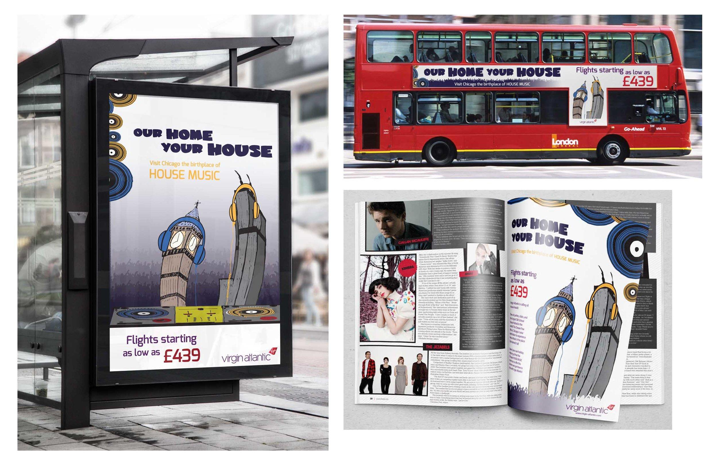 Travel Ad Campaign