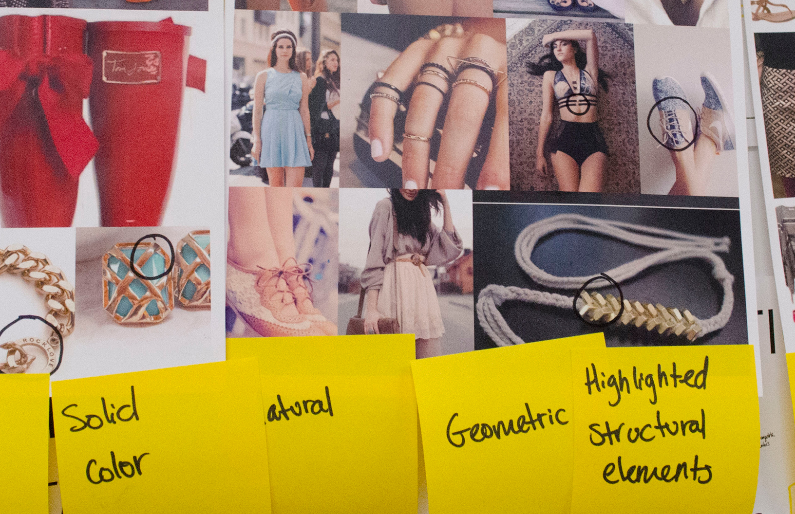 moodboards collected empathy interview participants