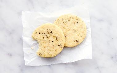 Rosemary Cornmeal Cookie