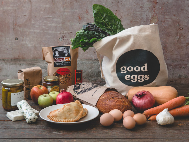 Check us out on Good Eggs!
