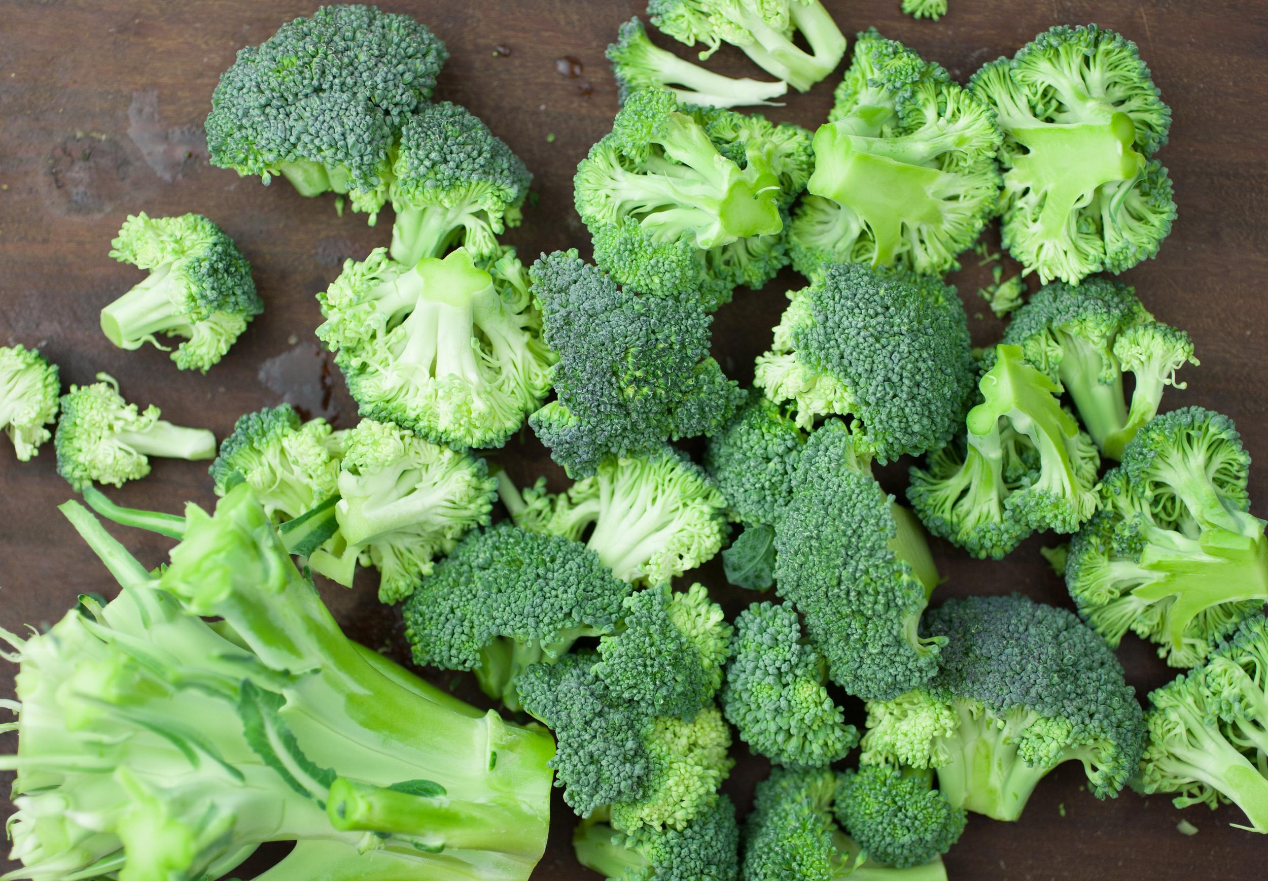 Produce On Parade - Broccoli Walnut Pesto