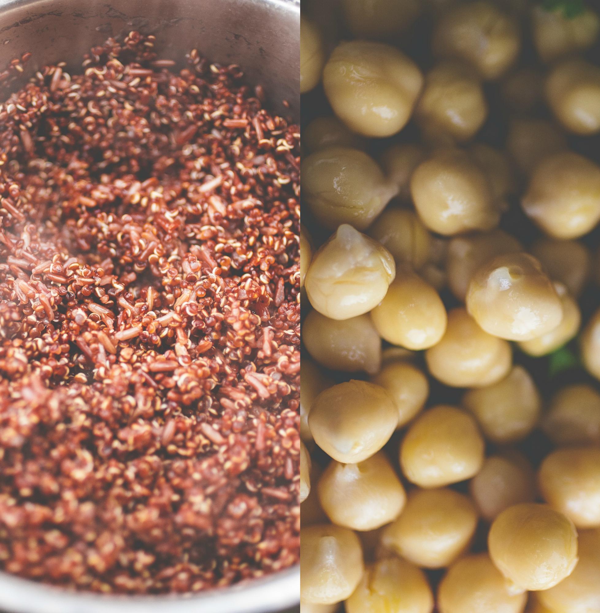 Produce On Parade - Thai Quinoa Burger