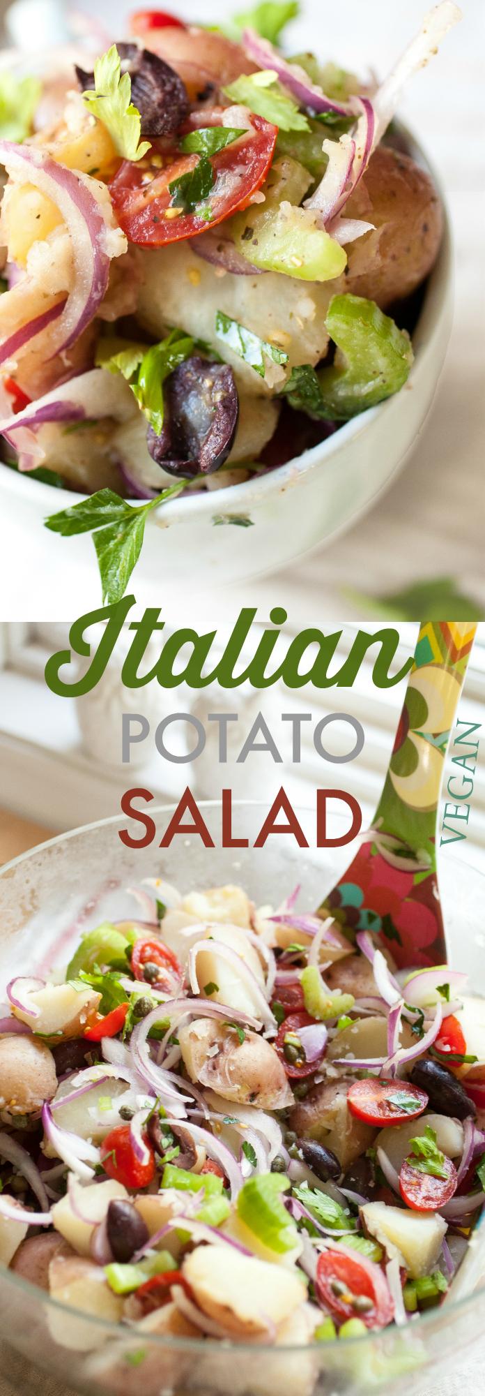 Produce On Parade - Italian Potato Salad