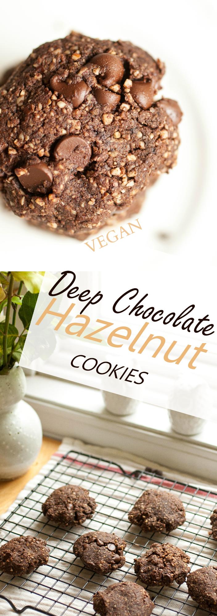 Produce On Parade - Deep Chocolate Hazelnut Cookies