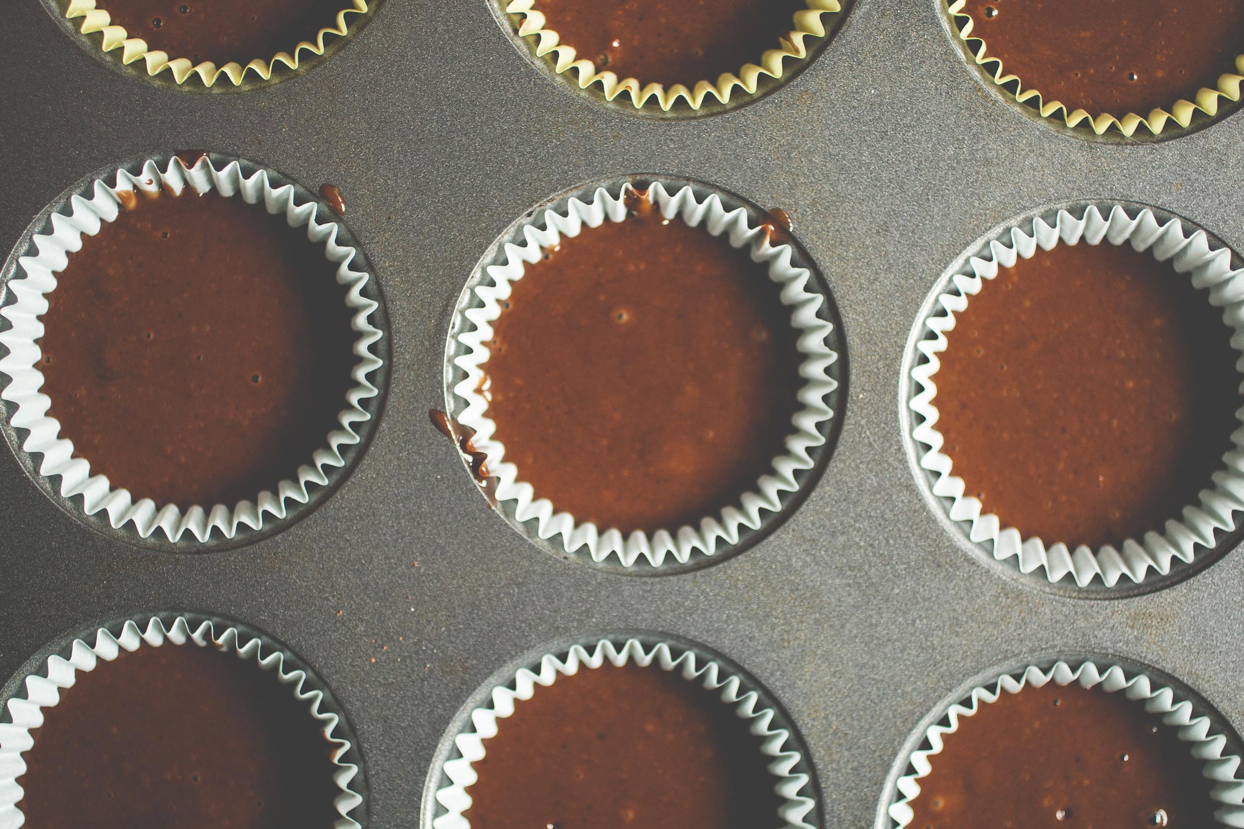 Produce On Parade - German Chocolate Cupcakes