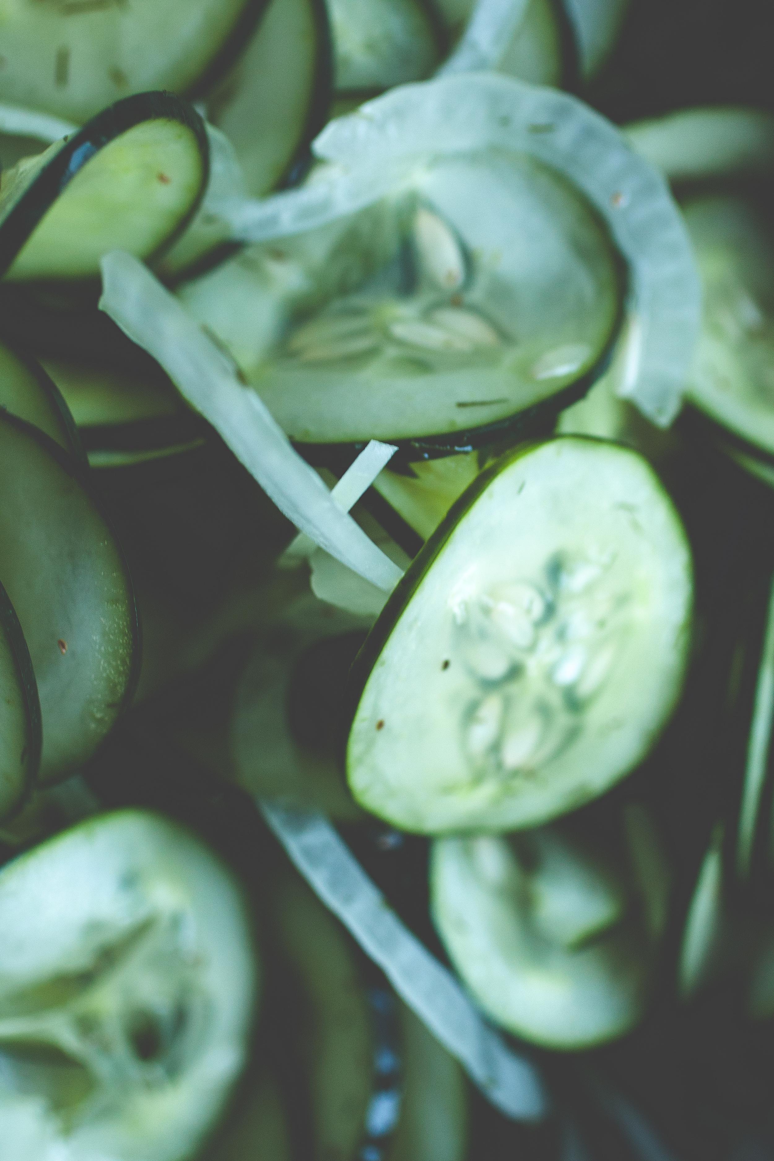Produce On Parade - Sweet Marinated Cucumbers