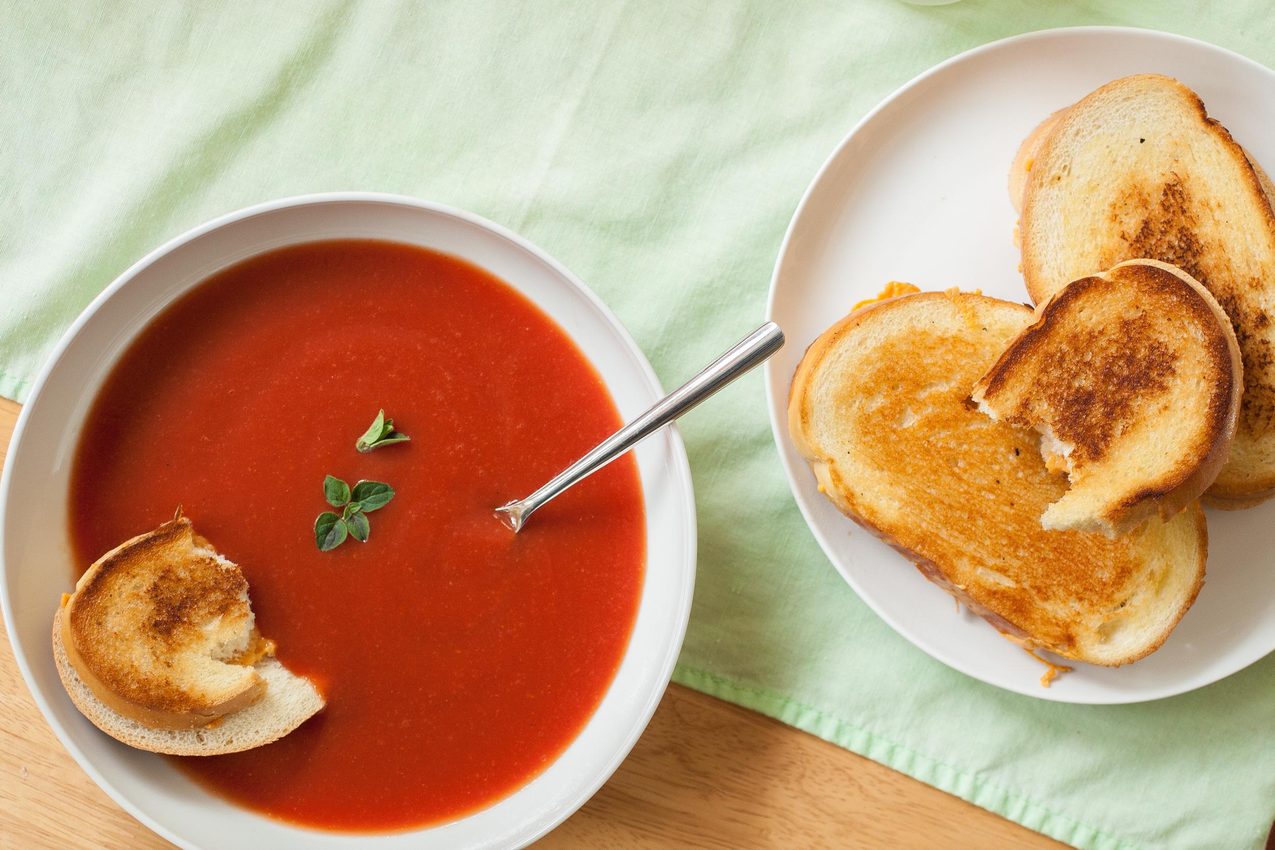 Produce On Parade - Copycat Campbell's Tomato Soup