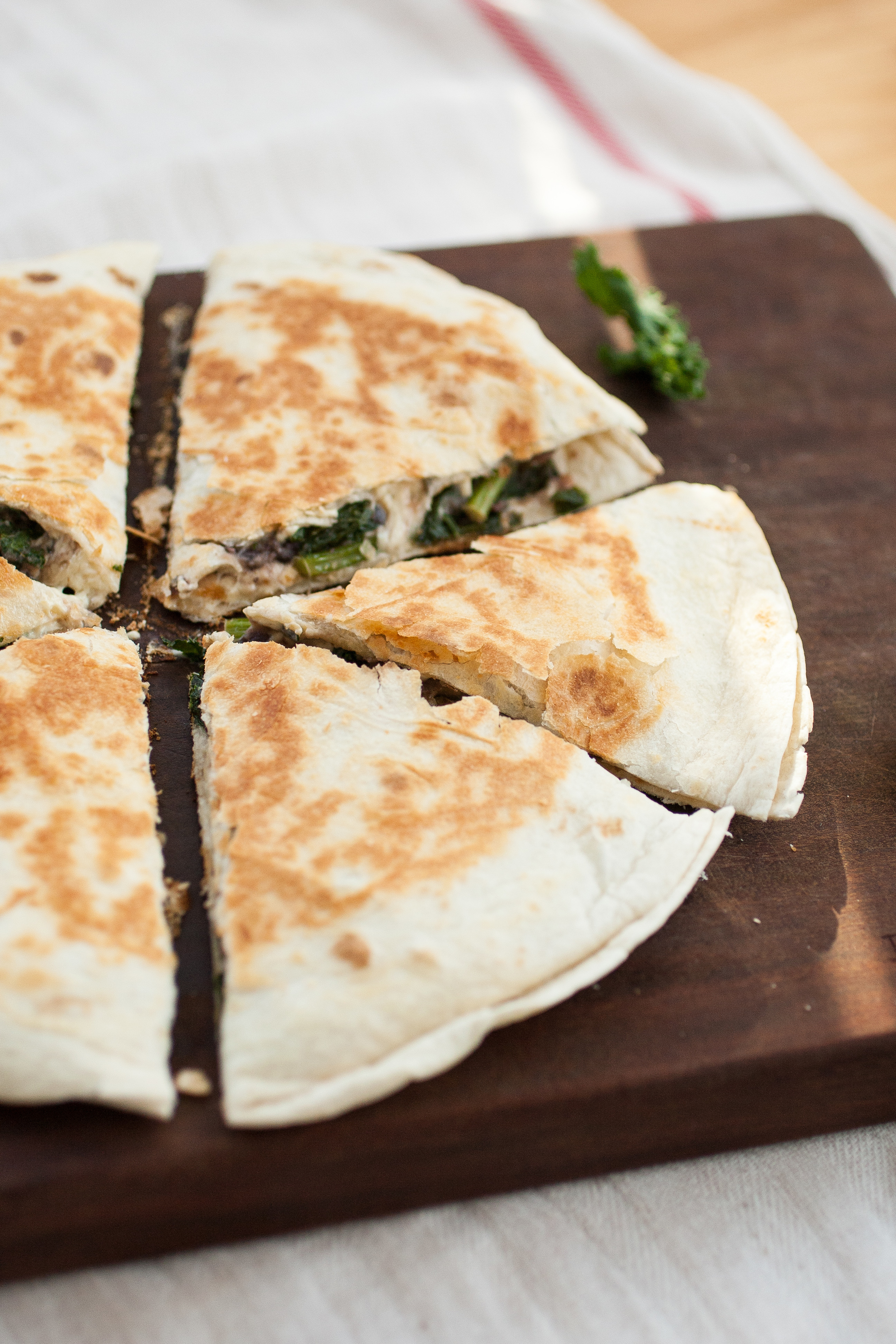 Produce On Parade - Miso Kale & Black Bean Quesadilla