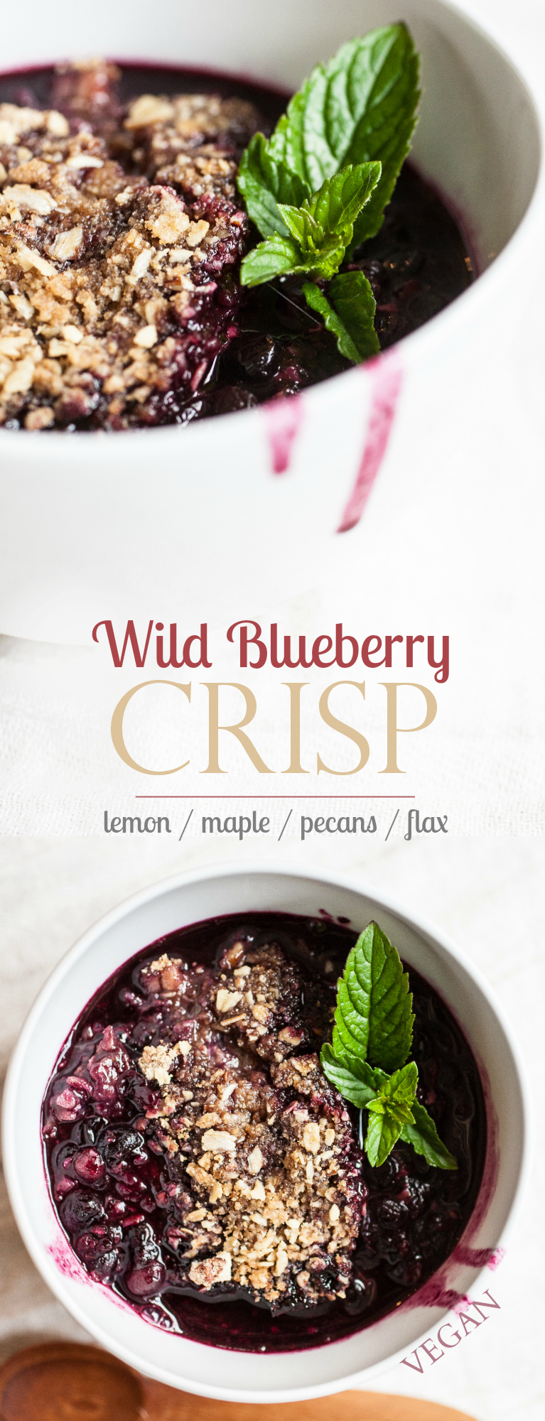 Produce On Parade - Wild Blueberry Crisp