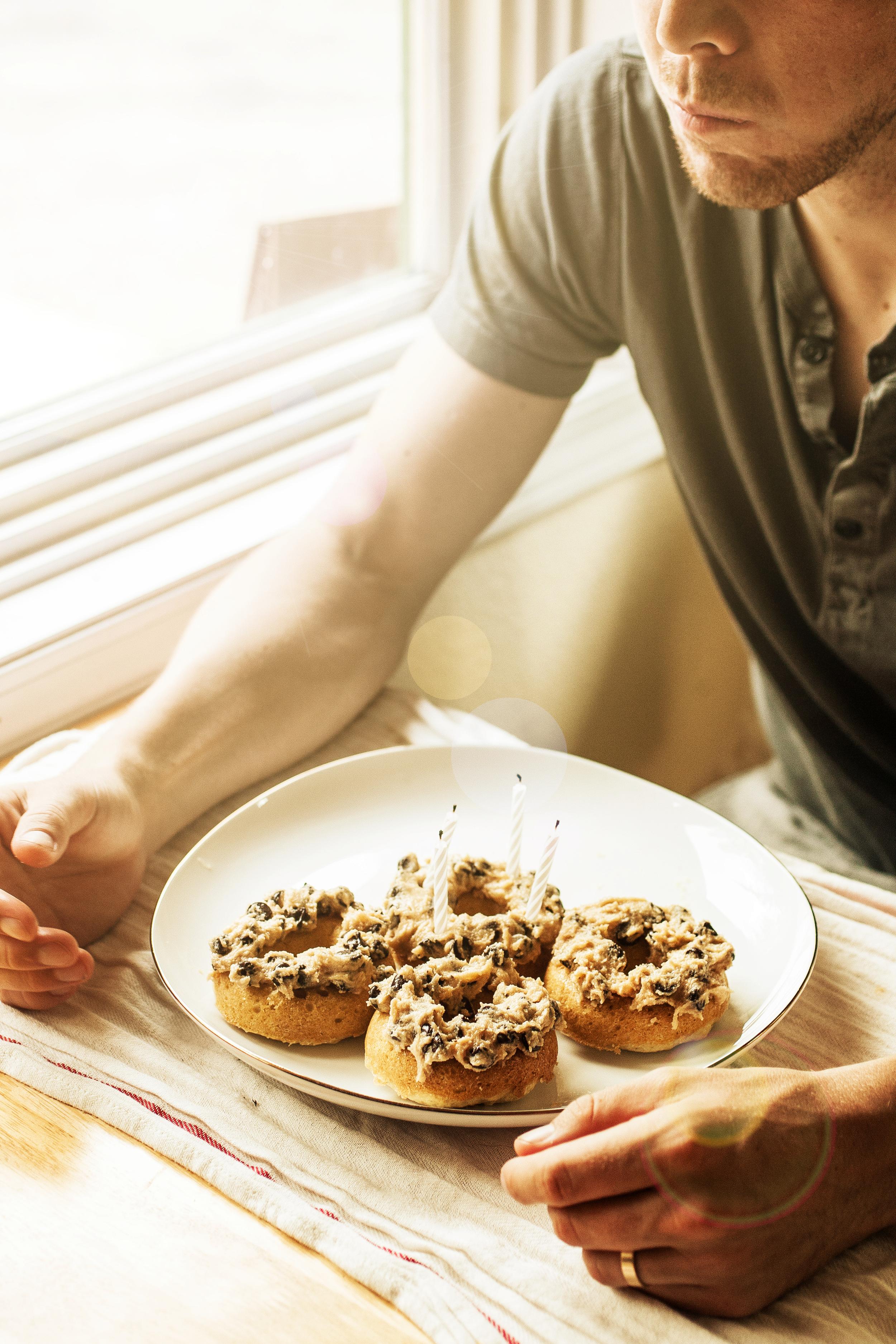 Produce On Parade - Cookie Dough Doughnuts