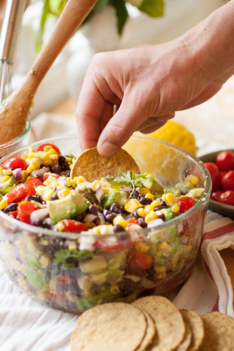 Produce On Parade - Summer Corn, Avocado & Black Bean Salad.jpg