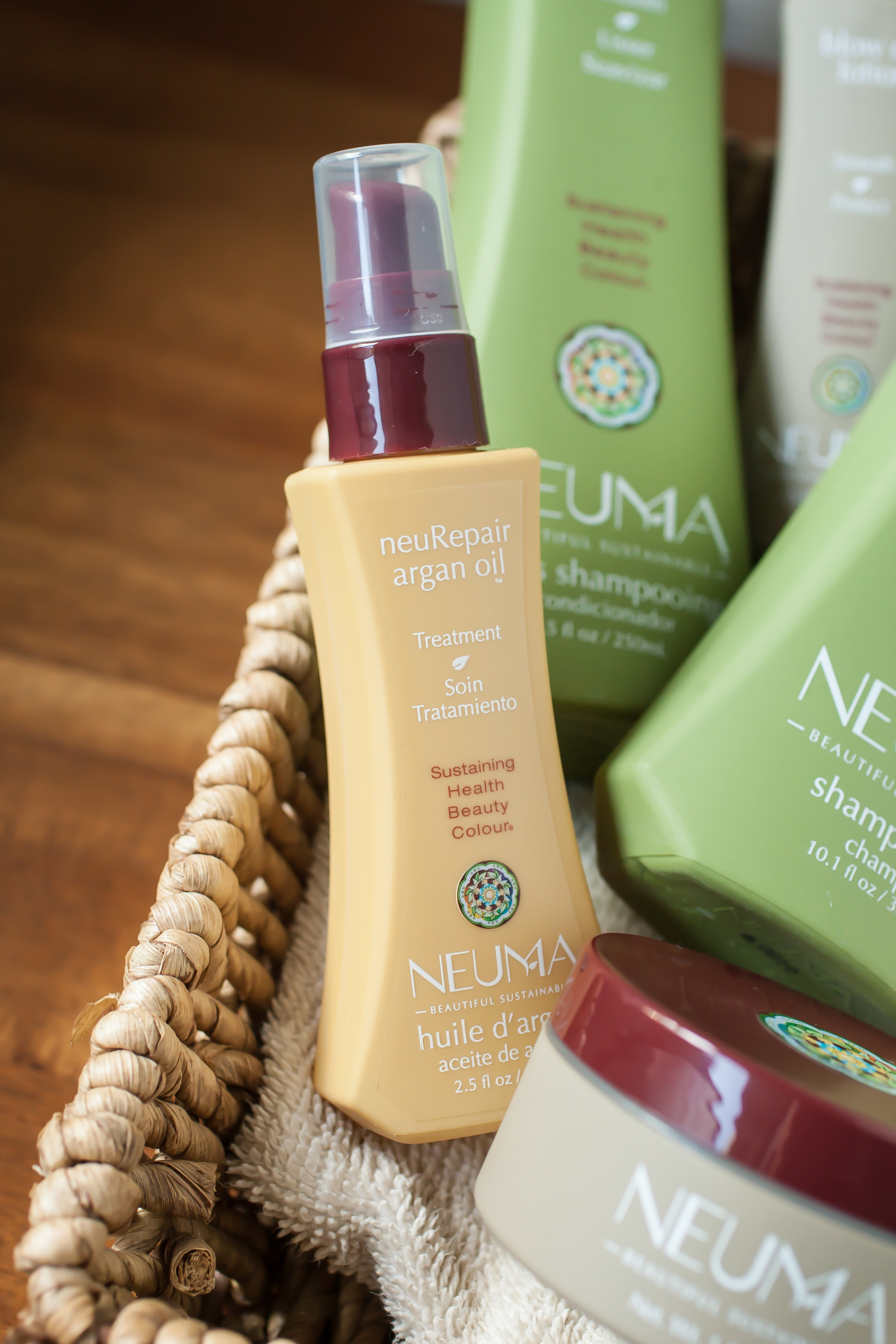 Produce On Parade - My Unruly Hair, Tamed - A Neuma Review