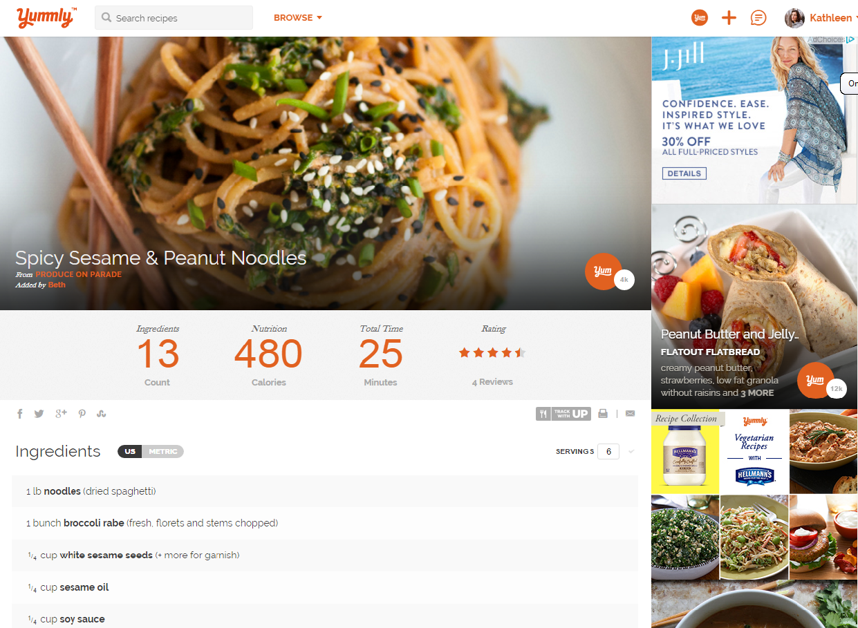 Yummly - Save & Share Recipes, Find Nutritional Info, & More