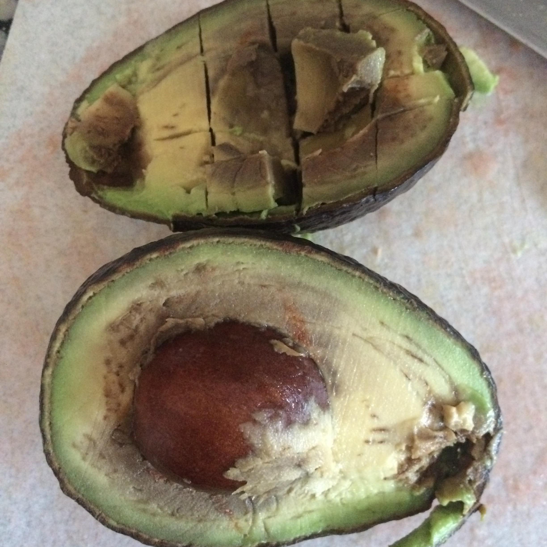 Rotten avocado.