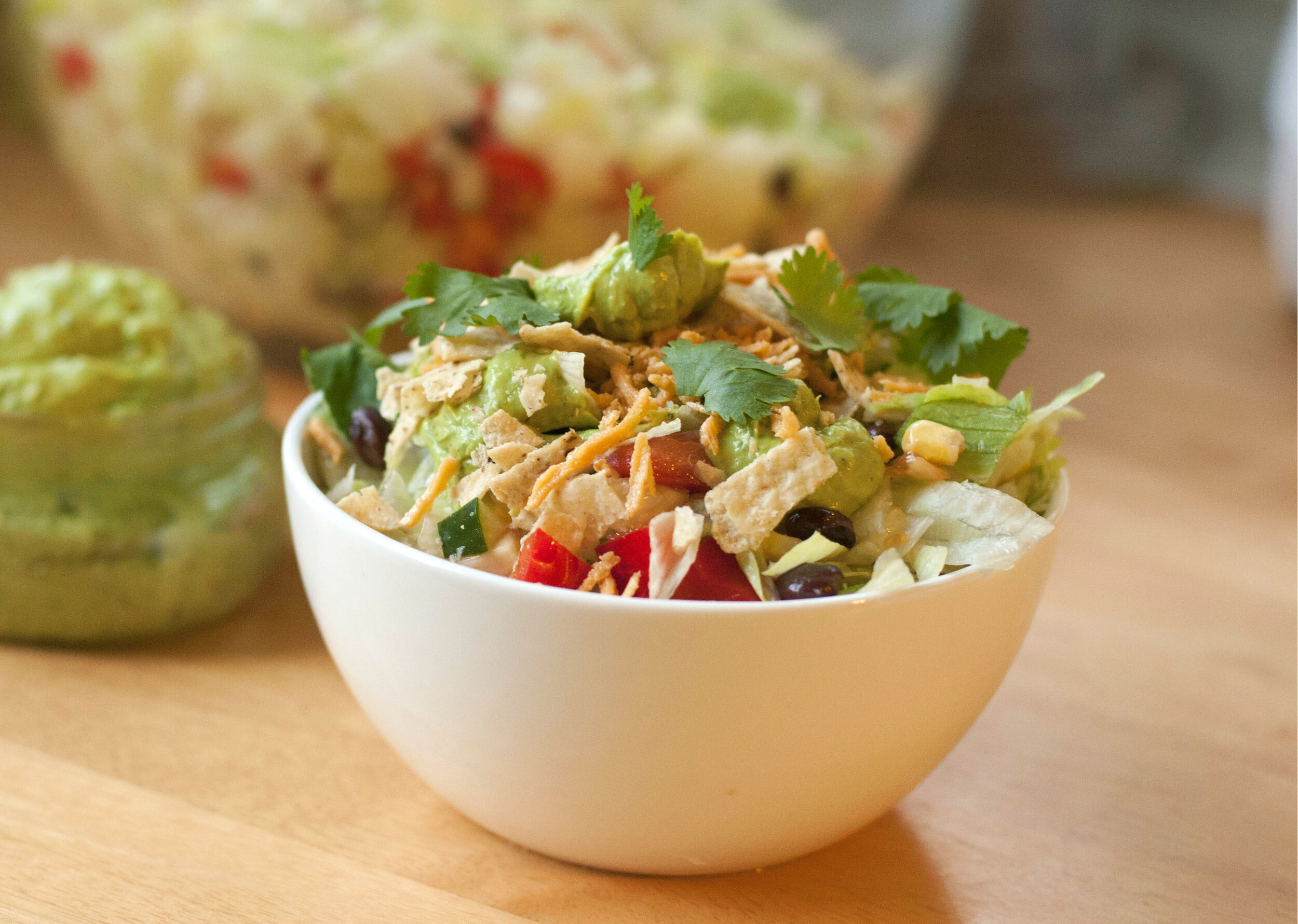 Southwestern Avocado Ranch Salad