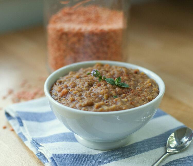 Copycat Amy's Lentil Soup