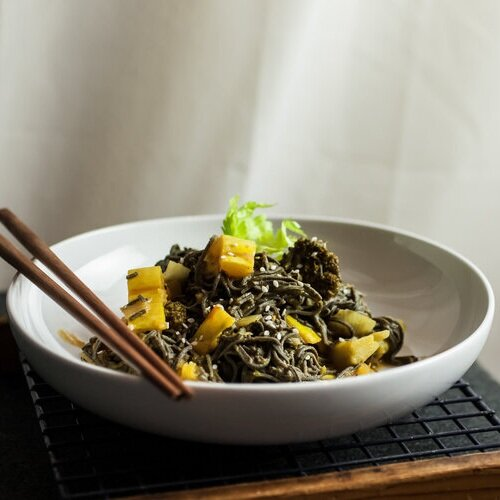 Delicata Squash and Broccoli Coconut Curry